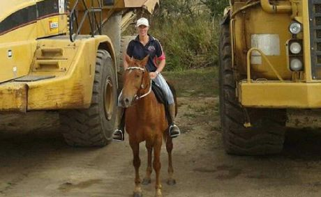 Horse lover and talented farrier Chantelle Holden is fighting for her life in a critical but stable condition in the Royal Brisbane Hospital after suffering burns to 90% of her body.