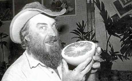 Australia Rare Fruit Council Capricornia branch president Tony Welch is today's Blast from the Past.