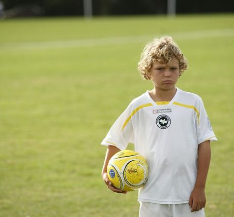 Eight year old Harry Lowe wishes he could play more football on the Eastern Suburbs fields.