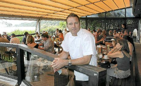 TOP SPOT: New chef at the Byron Beach Cafe, Paul Wrightson.