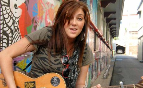 Mackay singer Candice Arlott, AKA Miss Bliss, is making it big nationally.