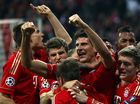 STRIKER Mario Gomez scored twice to secure Bayern Munich an historic treble after beating Stuttgart 3-2 in the German Cup final in Berlin.