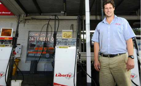 Liberty service station on Gwydir Hwy is believed to be the last dealer-owned, dealer-operated petrol station in Grafton. Paul Kelly (pictured) is manager and son of owner Robert Cook.