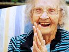 Kathleen Bowrey enjoyed celebrating her 100th birthday at Yaralla Place Aged Care Facility yesterday.