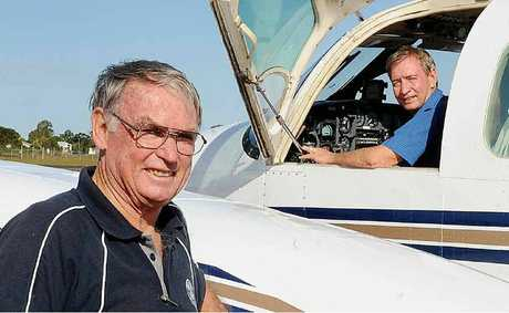 South Pacific Airways owners Robert Milne and Peter Henderson are ready to fly people around the region.