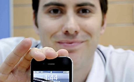 Joel Smith is not surprised Australia is one of the top two smart phone users in the world.