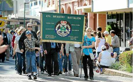Head to Bundabergs CBD on Anzac Day morning.
