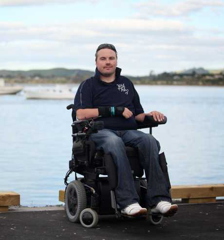 Bryce Dinneen of Wish4Fish, a charity to help people with disabilities or illnesses get out on the water.