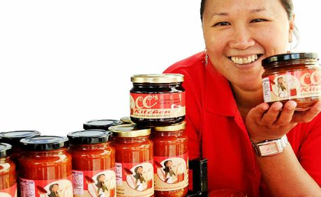 CC's Kitchen - Cecilia Diaz, is making her own work by creating jam and chutney products that are made largely from local produce.