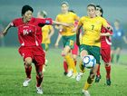 NATIONAL TEAM: Australia's Heather Ann Garriock in action for the Matildas.