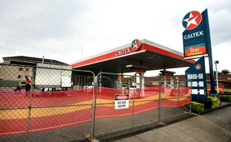 The Caltex service station on Kennedy Dr, Tweed Heads West.