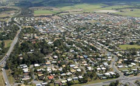 An aerial view of Mount Pleasant. The region's population is expected to almost double in the next two decades.