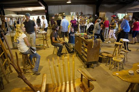 The Maleny Wood Expo is held annually as the major fundraiser for the Barung Landcare organisation.