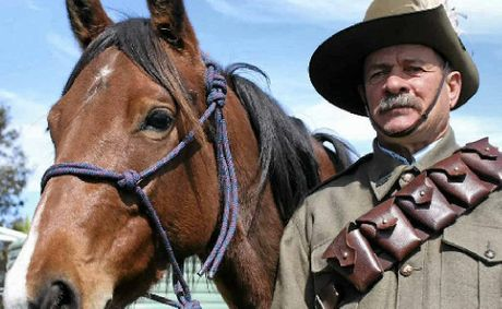 Ray Kuhn, along with his wife Trish, are encouraging anyone interested in joining the Light Horse Brigade to do so to keep the Australian heritage alive.
