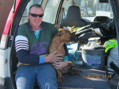 Bashed Martinborough fireman Peter Fisher's condition is improving.