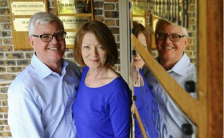 Queen Street Clinic doctors Nigel Bacon and Judith Alexander are retiring.