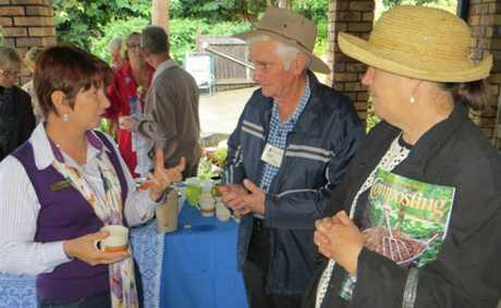Gardening guru Annette McFarlane visited Gympie at the weekend.