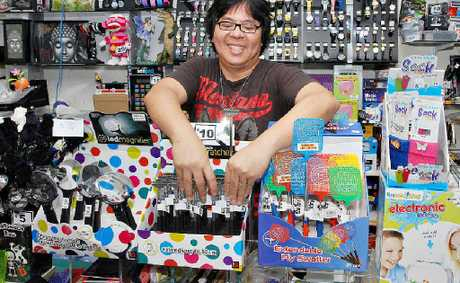 Hong Kong Importers owner David Ting had found a way to boost slower sales by selling niche products at his City Heart business.