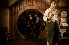 Martin Freeman as Bilbo Baggins in New Line Cinemas and MGM&#39;s fantasy adventure The Hobbit: An Unexpected Journey, a Warner Bros. Pictures release.
