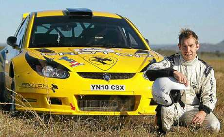 Aussie rally ace Chris Atkinson.