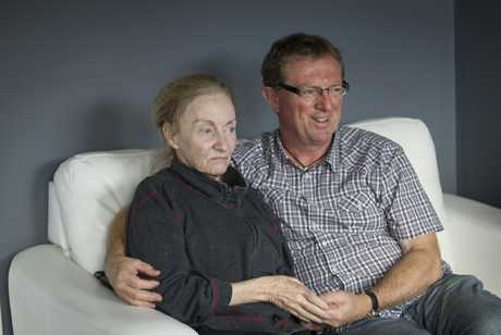Robert Turner's wife Sandie has early-onset dementia, now quite advanced. He cared for her at home for several years and she's now in a specialist home.