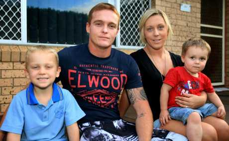 West Tweed residents Jai, Mark, Michelle and Taj Boman say money has been &quot;tight&quot; at home and they&#39;re keen for the rate cut to be passed on.