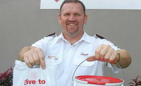 HELPING HAND: Ballina Salvation Army captain Peer Cathcart is looking for volunteers to help with the Red Shield Appeal on the weekend of May 19 and 20.