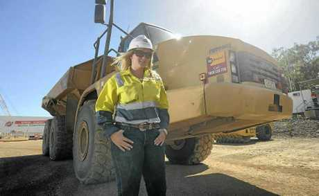 Eloise Sanders is a machinery operator at QCLNG, Curtis Island.
