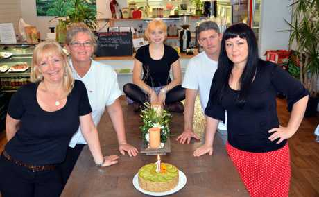 Kind Living Cafe in Maleny celebrated their first year anniversary at the weekend.