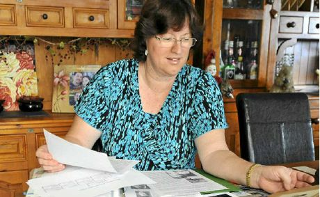Astrid Allison is tracing her family tree and so far has uncovered three generations of family history.