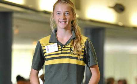 Emma Westman, 14, from Chanel College, found the 4Girls2 Career Day interesting.