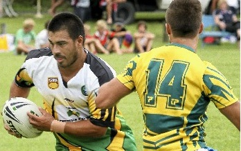 Tweed Coast Raiders' Paul Abric.