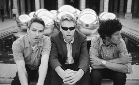 The Beastie Boys (Adam Yauch, aka MCA, in the centre).