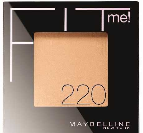 Try Maybelline Fit Me powder for the perfect match.