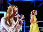 Sunny Coast star Kelsie Rimmer on The Voice.