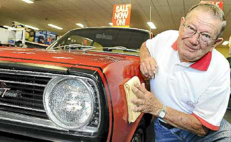 Garth Stubbins is looking forward to the All Holden Day Show and Shine this weekend.