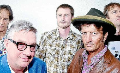 Aussie rock legends Mental as Anything perform at the Avondale Tavern on Saturday night.