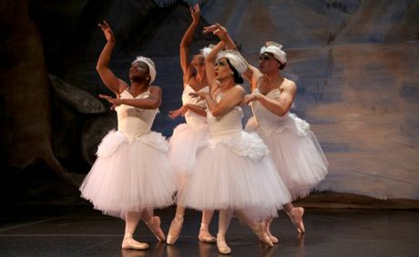 Satirical ballet Men in Pink Tights will be staged on May 31 at the Lismore City Hall.