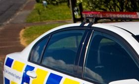Police have concerns for a driver who crashed a stolen car in Hastings. 