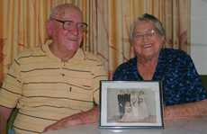 STRONG LOVE: Even after 60 years George and Irene (Topsy) Burrows love is still strong.