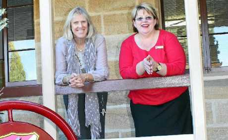 Central principal Christine Dolley and Joanne McKinnon of the Red Cross are joining forces to help grandparents raising their grandchildren.