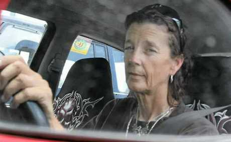 Driving instructor Gail Lobley is urging drivers to lean forward when checking for other motorists at intersections.