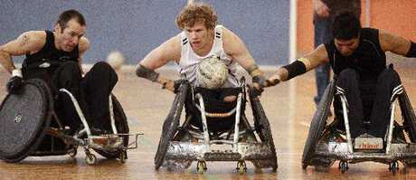 Wheelchair rugby comes to Baypark&#39;s TECT Arena this weekend.