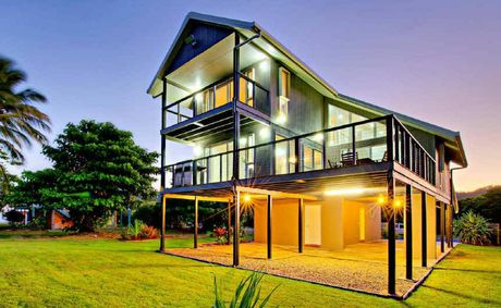 Anita and Brett Rennick have launched a social media campaign to auction their beachfront Todd Ave, Yeppoon, home.