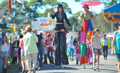 Perfect sunshine and plenty of amusements saw thousands attend this year's Coffs Harbour Show.