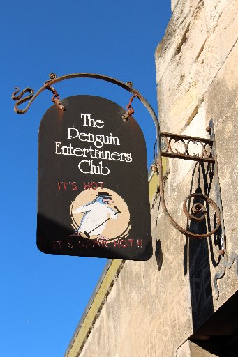 ON SONG: The Penguin Entertainer's Club, Oamaru. PHOTO/REBECCA RYAN