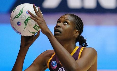 Romelda Aiken of the Firebirds