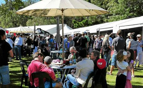 Noosa Food and Wine Festival crowds from last year.