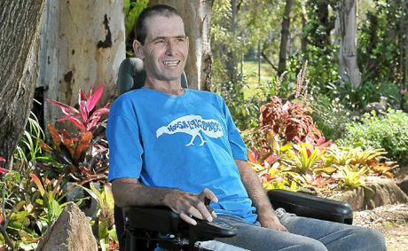 Mat Eustace ponders his future with the debilitating motor neurone disease.