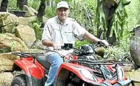 Charles Marais wants to run guided tours through Woondum National Park to rock pools at Hill Rd near Mothar Mountain, but opposition is rising.